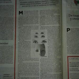 Día de la Mujer (artículo en el periódico La Rioja)