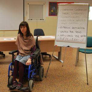 Programa Mujer y Discapacidad 2014: talleres y atención individual