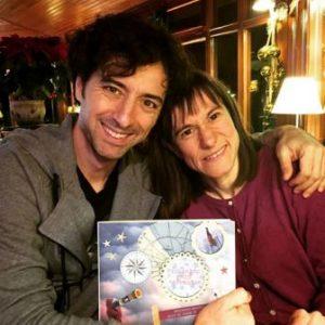 Andrés Pascual, Mercedes García-Laso y el libro Minimapas para Tormentas